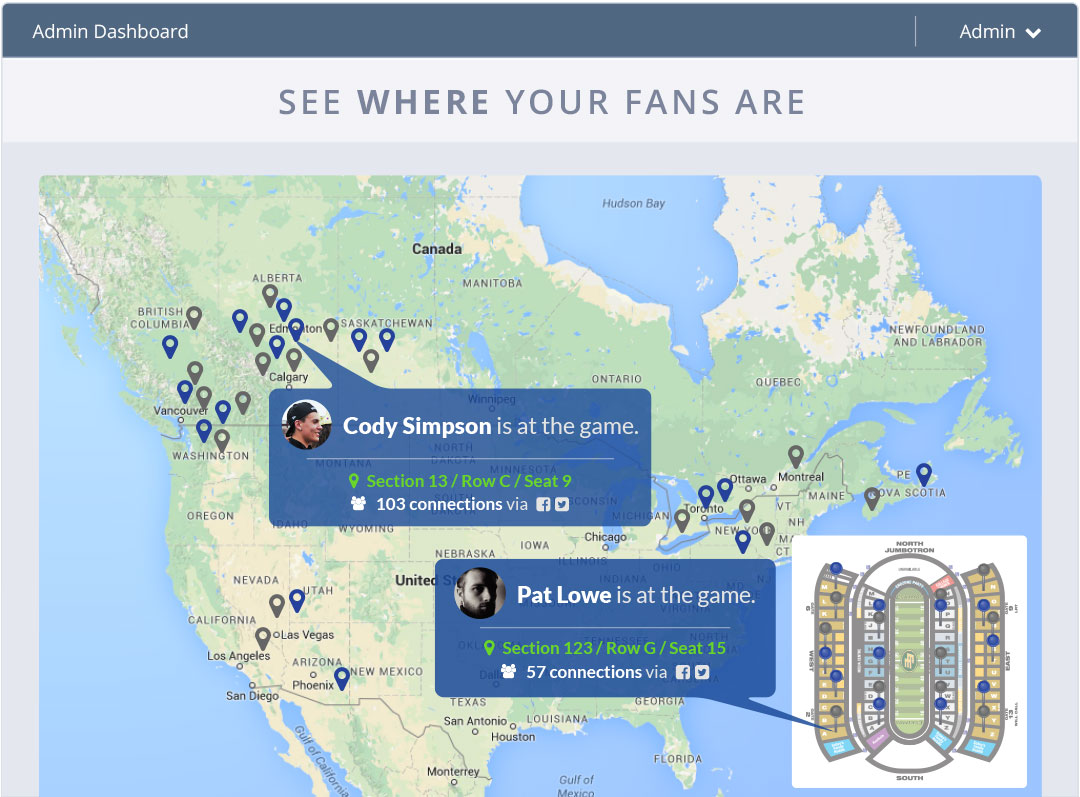 See Where Your Fans Are